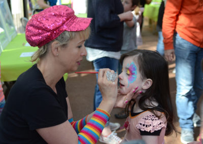 Events Gallery - 50th Birthday face painting