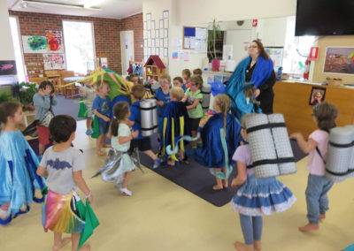 Incursions Gallery - 4 year old group - Drama Under the Sea 4