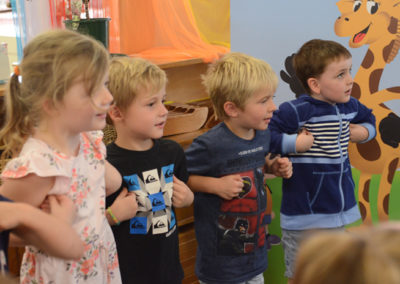 Incursions Gallery - 4 year old group - Healthy Harold 2