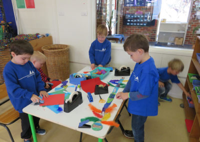 Indoor Gallery - Cut and Paste Craft