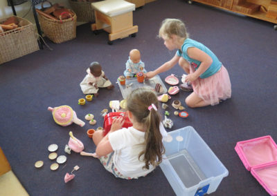 Indoor Gallery - Doll Tea Party