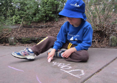 Outdoor-Gallery--Chalk-Drawing