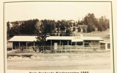 History of Park Orchards Kindergarten
